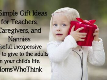 10 Simple Gifts for Teachers