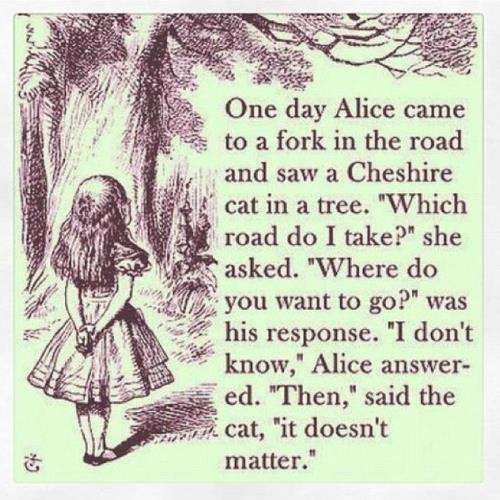 Life Lessons from Alice in Wonderland