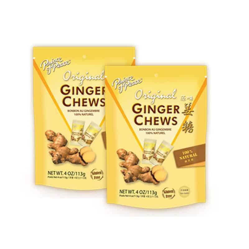 Ginger chews help stave of morning sickness when you're newly pregnant