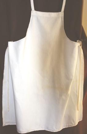 Make a BBQ apron