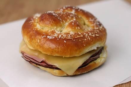 Bavarian Pretzel Sandwich