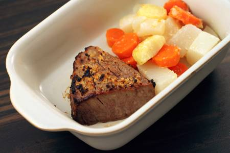 Beef Sirloin with Fall Vegetables