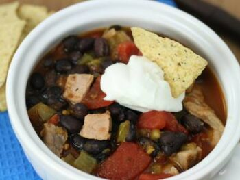 Belly Busting Pork Chili