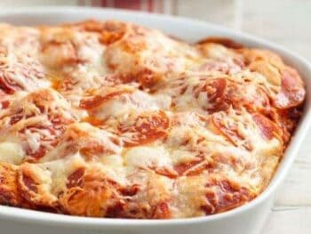 Biscuit Pizza Casserole