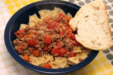 Bow Tie Bolognese