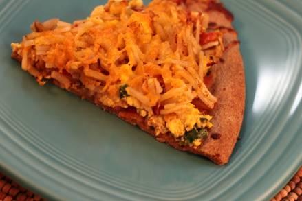 Southwest Breakfast Pizza