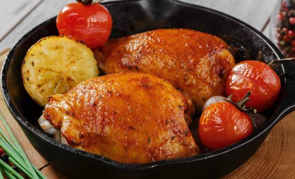 Brown-Sugar-Glazed-Chicken