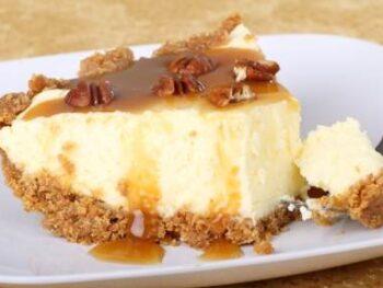 Caramel-Praline-Cheesecake