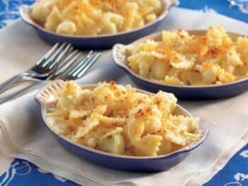 Cauliflower Bowtie Mac and Gouda
