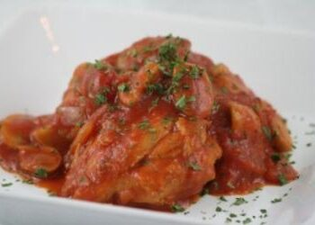 The Best Chicken Cacciatore!