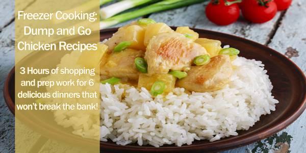 Freezer Stocking Chicken Recipes