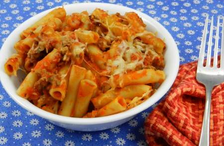 Chicken and Ziti Casserole