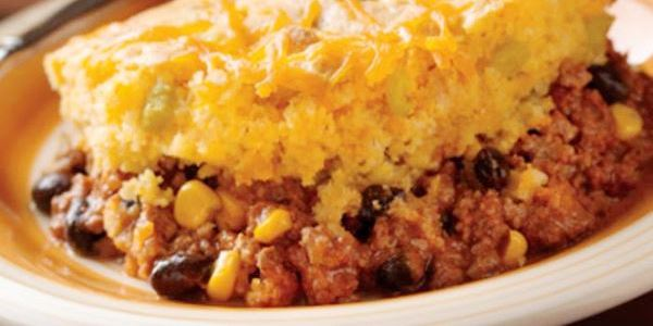 Cornbread Topped Chili