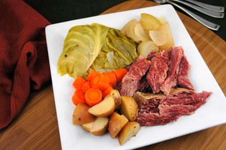 Crock Pot Corned Beef and Cabbage - Moms Who Think