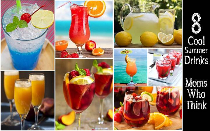 Cool Summery Cocktails