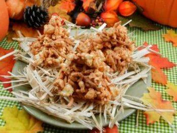 Easy Halloween Haystacks Recipe