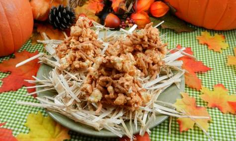 Easy Halloween Haystacks Recipe
