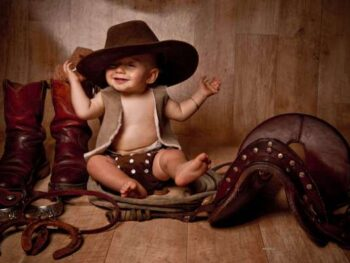 Unique Baby Names for Future Cowboys and Cowgirls