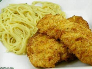 GARLIC FRIED CHICKEN BREASTS