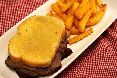 Grilled Cheese Roast Beef