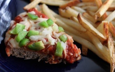 Heathy Pizza Meatloaf Recipe