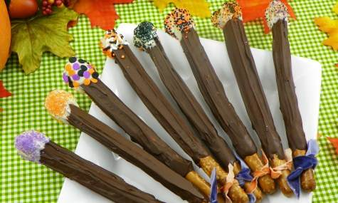 Halloween Magic Wands Recipe