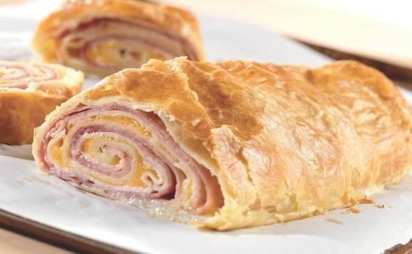 Ham and Cheese Stromboli