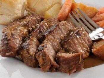 Healthy Beef Pot Roast