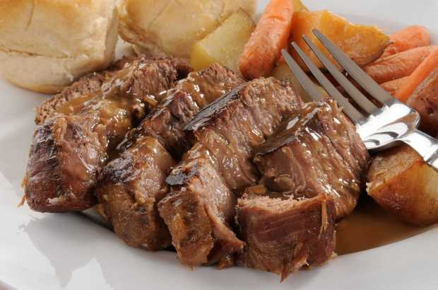 Healthy Beef Pot Roast