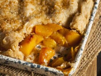 Healthy Peach Cobbler Recipe