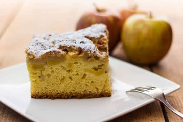 Healthy Apple Coffee Cake Recipe