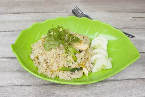 Healthy Oriental Rice Recipe