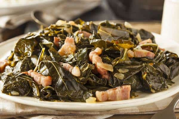 Healthy Smothered Greens Recipe