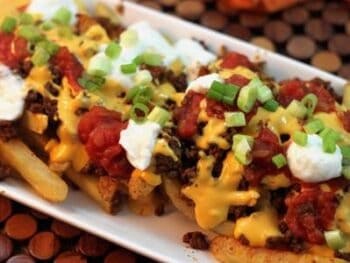 Hearty Chili Cheese Fries