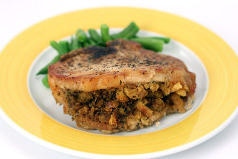 Pork Chops With Herb Stuffing Recipes — Dishmaps