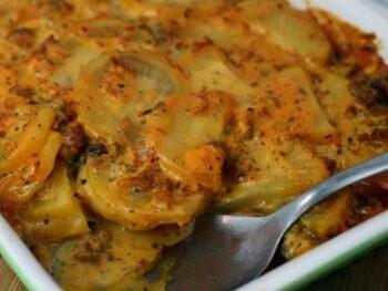 Italian Au Gratin Potatoes