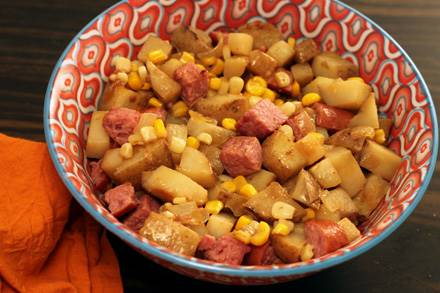 Kielbasa Potatoes