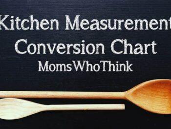 Kitchen Measurement Conversions