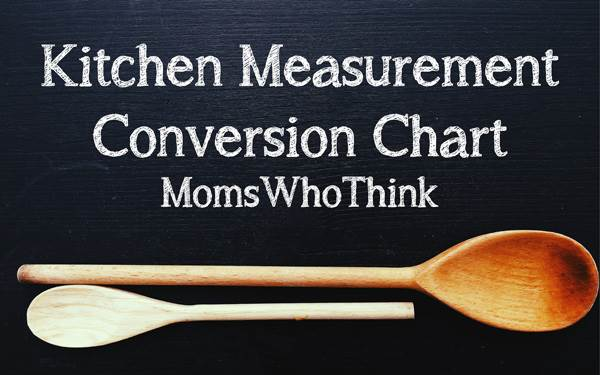 Kitchen Measurement Conversions