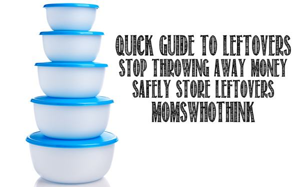 Storage Guide for Leftovers