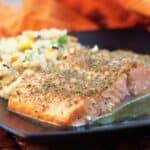 Lemon Crusted Salmon
