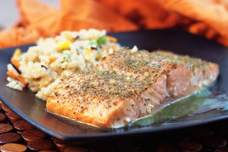 Lemon Crusted Salmon