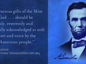 Lincoln Started Thanksgiving