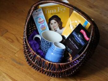 Mom's Relaxation Basket