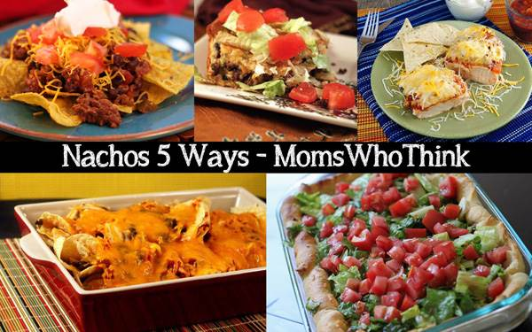 Nachos 5 Ways