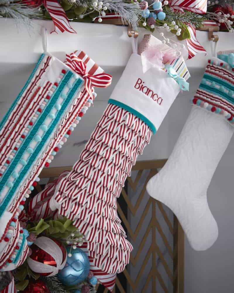 Baby's First Christmas Stocking from Neiman Marcus