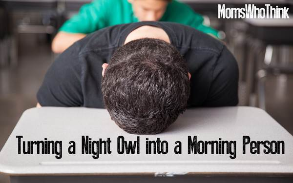 Turn a Night Owl Into a Morning Person