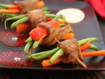 Oriental Steak Skewers