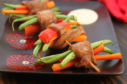Oriental Steak Skewers