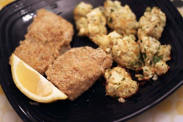 healthy oven fried fish recipe